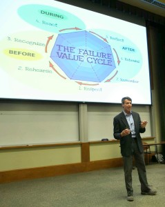 Explaining the Failure Value Cycle: how to reduce the impact of failure and turn it from a regret into a strategic resource.
