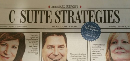 WSJ C-Suite Strategies