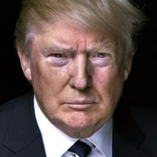 Donald Trump Portrait for Mark Coopersmith's Blog