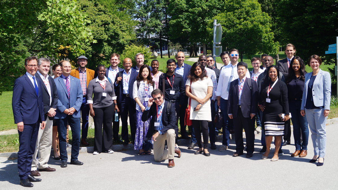 Mark Coopersmith in Vienna at the Austrian Federal Ministry Week in 2017 with delegates from a diverse array of 11 countries, and as far afield as Kazakhstan, South Africa, Kenya, India and of course Silicon Valley!