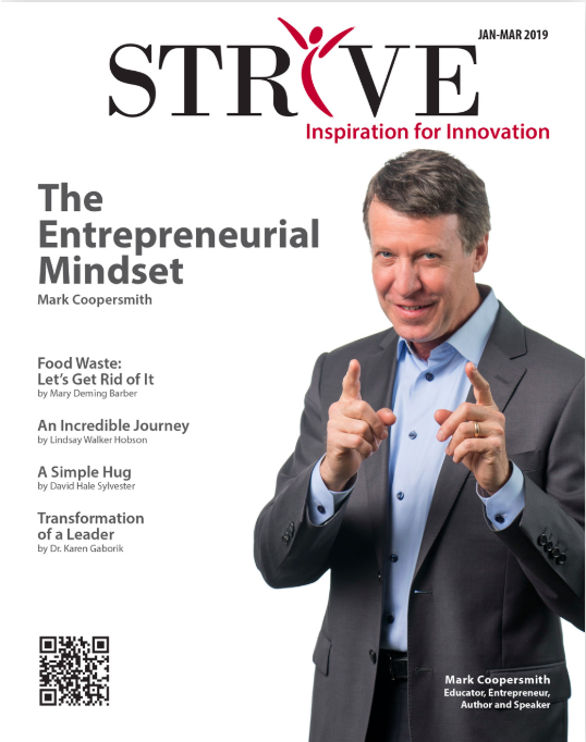 Mark Coopersmith Strive Magazine